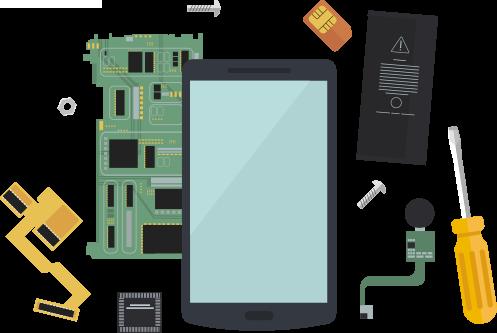 Batteriewechsel, Displaywechsel, Akku Austausch, Mikrofonreparatur und vieles mehr, für Handy's und Tablet's